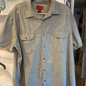 Men's Foundry Shirt Button Down Size 2XL